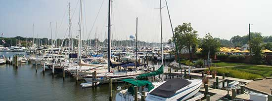Butlers Marina in Annapolis Maryland