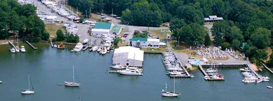 Deltaville Boatyard and Marina Virginia