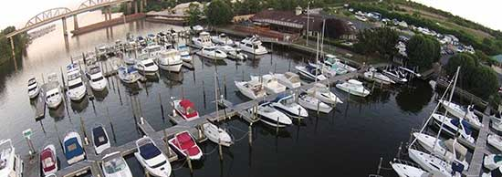 Occoquan Harbour Marina is in Woodbridge Virginia