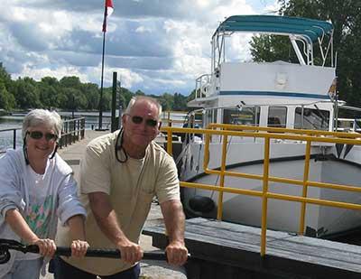 Yacht Brokers Joe and Punk Pica