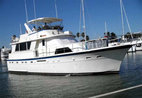 Curtis Stokes Yacht Brokerage- Motor Yacht Hatteras 53 Sand Dollar