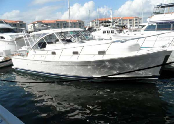 Curtis Stokes Yacht Brokerage Motor Yacht Mainship 34 Spindrift
