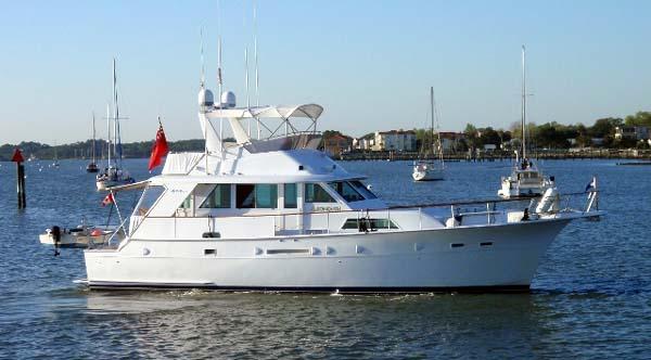 Curtis Stokes Yacht Brokerage Hatteras 53 Motor Yachtfish