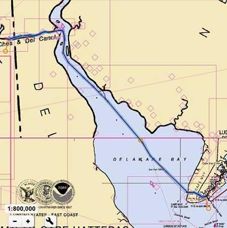 Cohansey River Delaware Bay