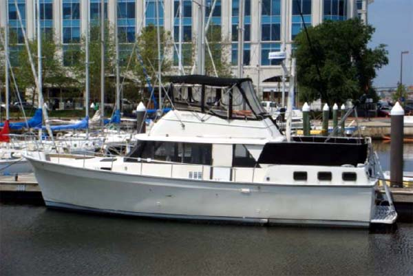 40 trawler yacht