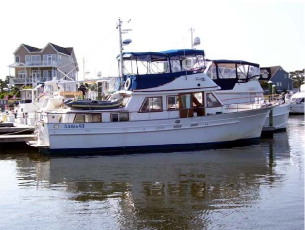 Albin 43 Trawler Yacht