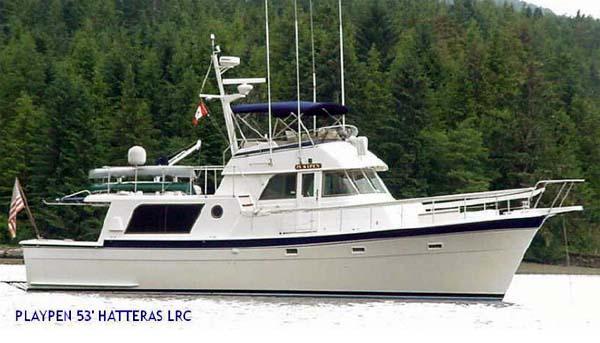 Hatteras 48 Trawler Yacht Playpen