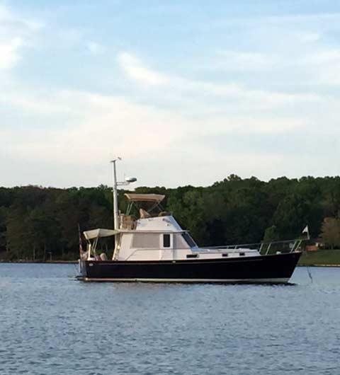 40 trawler sedan for sale