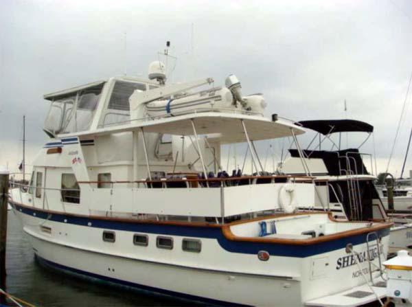 Curtis Stokes Yacht Brokerage 49 Defever Trawler Shenanigans