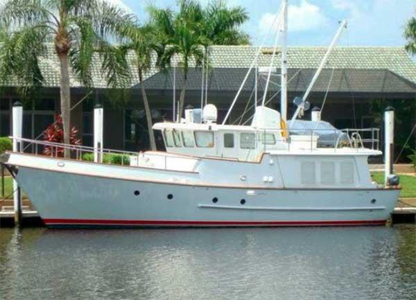 Curtis Stokes Yacht Brokerage- Nordhavn 46 Trawler for Sale
