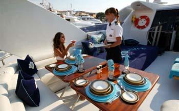 Charter a Yacht for Breakfast in St. Tropez