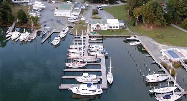 Deltaville Boatyard and Marina Virginia