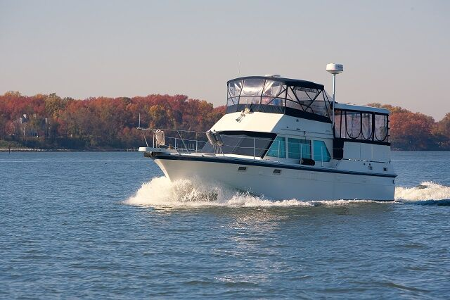 38 Hatteras motor yacht for sale