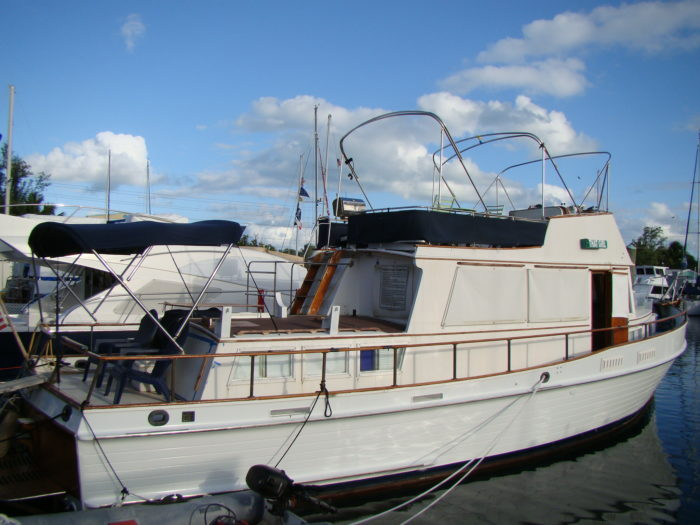 Grand Banks 42 trawler for sale