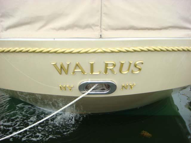 Walrus transom