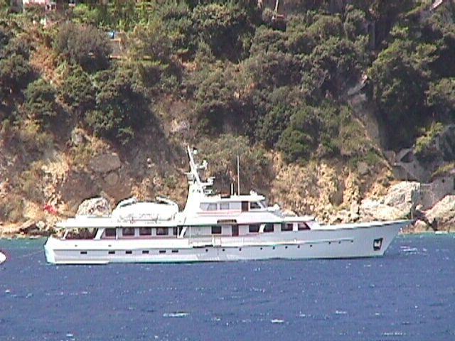 Odalisque - 116 FEADSHIP ODALISQUE off Capri
